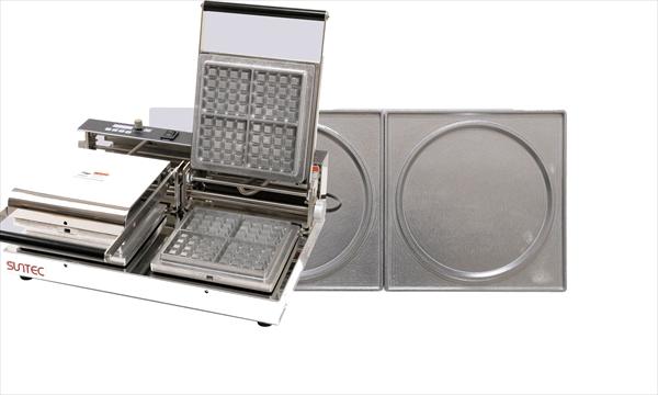 マルチベーカー MAX-2 2連式 パンケーキ 6-0860-0306 GML0606