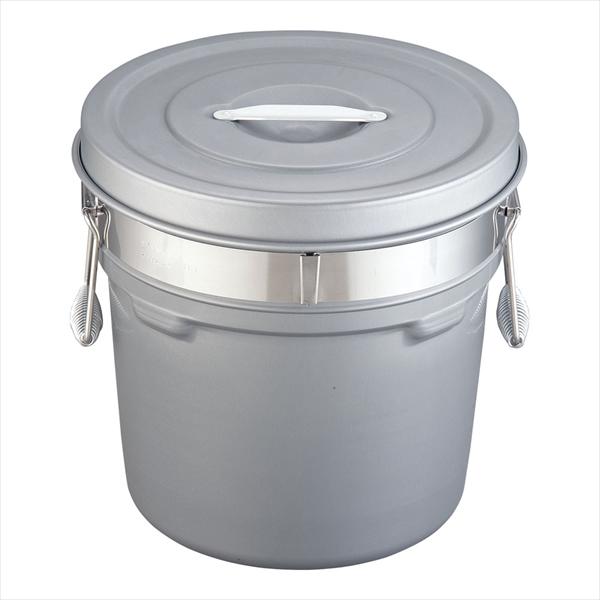 オオイ金属 段付二重食缶(内外超硬質ハードコート) [250-H(16l)] [7-0186-0106] ASY58250