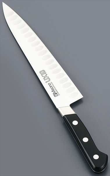 ミソノ刃物 ミソノ UX10シリーズ 牛刀サーモン [761 18] [7-0293-2201] AMSD7761