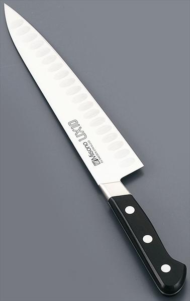 ミソノ刃物 ミソノ UX10シリーズ 牛刀サーモン 763 24 6-0285-2103 AMSD7763