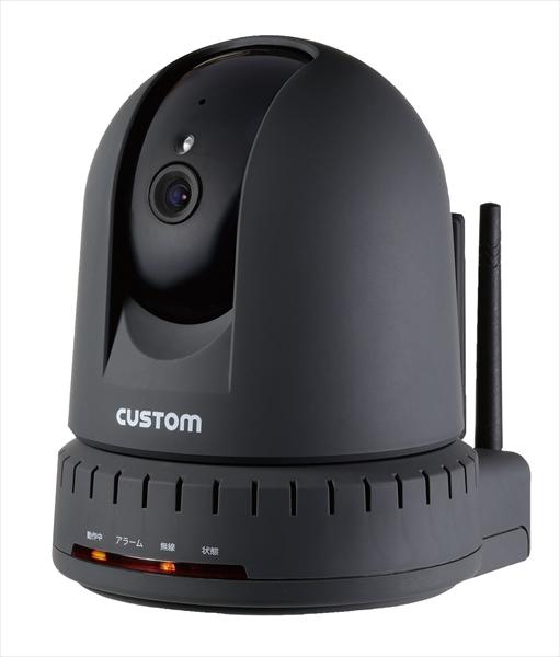 カスタム カスタム 温湿度計センサー付IPカメラ IPC-01TH 6-0558-0601 BOVP101