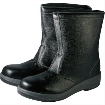 (株)シモン シモン 安全靴 半長靴 7544黒 23.5cm [ 7544N23.5 ]