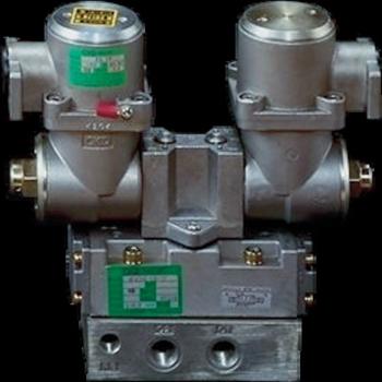 CKD(株) CKD パイロット式 防爆形5ポート弁 4Fシリーズ(ダブルソレノイド) [ 4F520E15TPAC100V ]