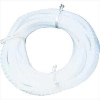 (株)フロンケミカル フロンケミカル フッ素樹脂(PTFE)スパイラルチューブ 10φ×12φ×10m [ NR0514004 ]