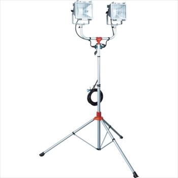 (株)ハタヤリミテッド ハタヤ 防雨型スタンド付ハロゲンライト 500W×2灯 100V電線5m [ PHCX505N ]