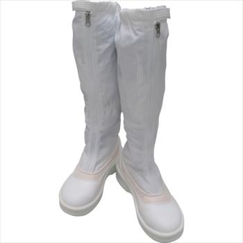 (株)ゴールドウイン ゴールドウイン 静電安全靴ファスナー付ロングブーツ ホワイト 24.0cm [ PA9850W24.0 ]