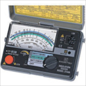 共立電気計器(株) KYORITSU 2レンジ小型絶縁抵抗計 [ MODEL3144A ]