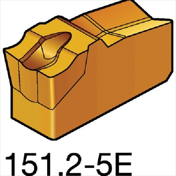 サンドビック(株)コロマントカンパニー サンドビック T-Max Q-カット 突切り・溝入れチップ 2135 [ N151.22505E ]【 10個セット 】