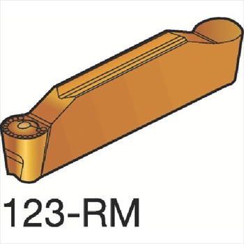 サンドビック(株)コロマントカンパニー サンドビック コロカット2 突切り・溝入れチップ H13A [ N123L20800RM ]【 10個セット 】