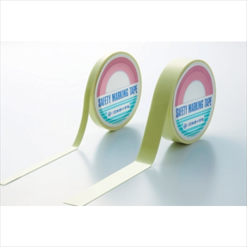 (株)日本緑十字社 緑十字 「超」高輝度蓄光テープ 25mm幅×5m PET [ 364002 ]