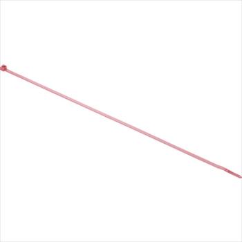 パンドウイットコーポレーション パンドウイット リリースタイ 取り外し可能ナイロン結束バンド 赤 1000本入 [ PRT4SM2 ]