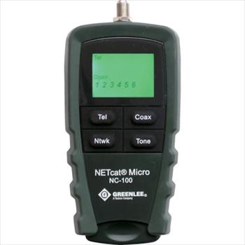 (株)グッドマン グッドマン LCD表示LAN・電話・同軸テスターNC100 [ NC100 ]