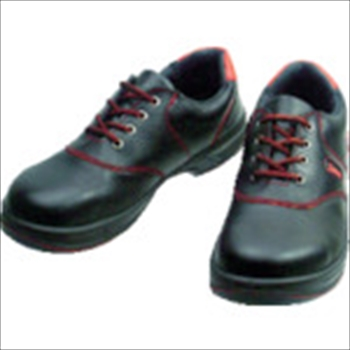 (株)シモン シモン 安全靴 短靴 SL11-R黒/赤 25.5cm [ SL11R25.5 ]