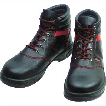 (株)シモン シモン 安全靴 編上靴 SL22-R黒/赤 24.5cm [ SL22R24.5 ]