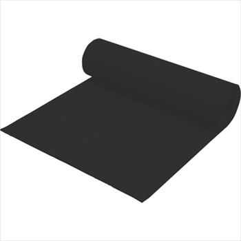 ミヅシマ工業(株) ミヅシマ クッションマット 1MX5MX5mm ブラック [ 4070000 ]