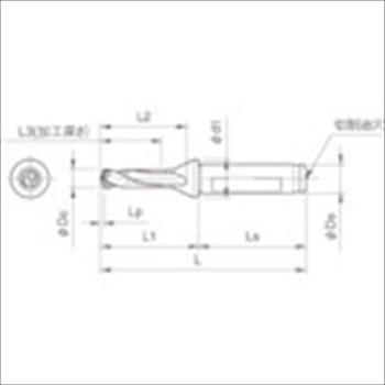 京セラ(株) 京セラ ドリル用ホルダ [ SF16DRC125M3 ]