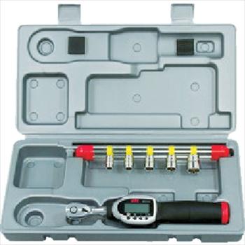 京都機械工具(株) KTC 9.5sq.ソケットレンチセット デジラチェモデル[6点組] [ TB306WG3 ]
