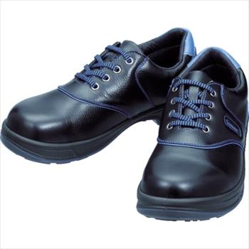(株)シモン シモン 安全靴 短靴 SL11-BL黒/ブルー 24.5cm [ SL11BL24.5 ]
