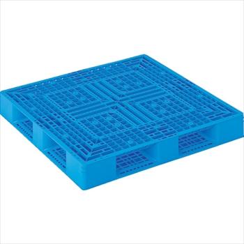 三甲(株) サンコー プラスチックパレット 1200X1200X150 青 [ SKD412122BL ]