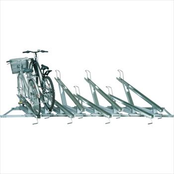 ★直送品・代引不可(株)田窪工業所 タクボ スライドキーパー 8台用高低ラック [ SRZ1N08 ]