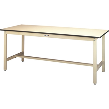 山金工業(株) ヤマテック ワークテーブル300シリーズ リノリューム天板W900×D750 [ SWR975II ]
