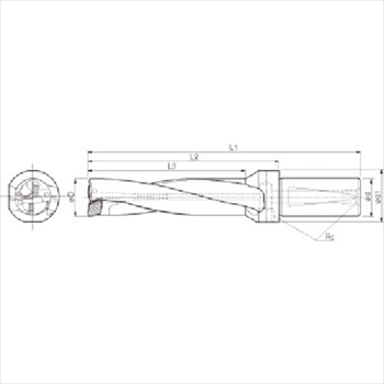 京セラ(株) 京セラ ドリル用ホルダ [ S25DRZ16566006 ]