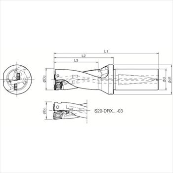 京セラ(株) 京セラ ドリル用ホルダ [ S20DRX120M203 ]