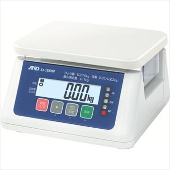 (株)エー・アンド・デイ A&D 取引・証明用(検定済品)防塵・防水デジタルはかり [ SJ15KWP ]