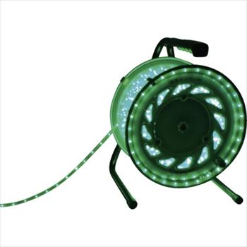 新しい到着 ]:ダイレクトコム [ RLL50SG ~ProTool館~ 日動工業(株) 日動 LEDラインチューブドラム緑-DIY・工具