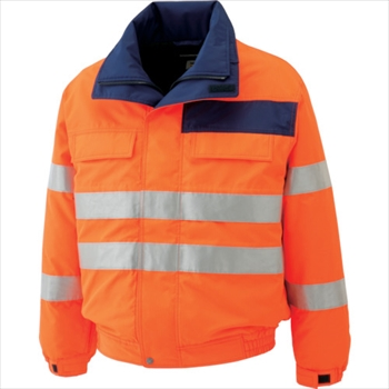ミドリ安全(株) ミドリ安全 高視認性 防水帯電防止防寒ブルゾン オレンジ LL [ SE1135UELL ]