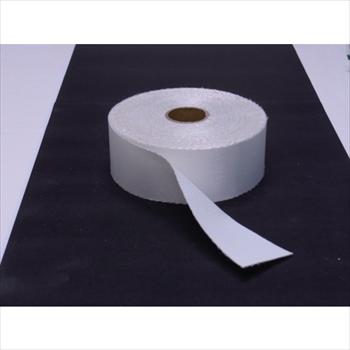 トラスコ中山(株) TRUSCO ノンセラクロステープ 0.8X100mm 20m 片面樹脂加工 [ TACT08100 ]