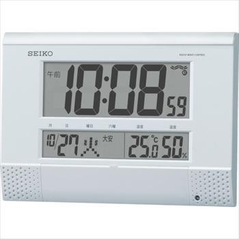 セイコークロック(株) SEIKO プログラムチャイム付き電波時計 [ SQ435W ]