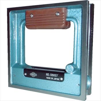 トラスコ中山(株) TRUSCO 角型精密水準器 A級 寸法150X150 感度0.02[ TSLA1502 ]