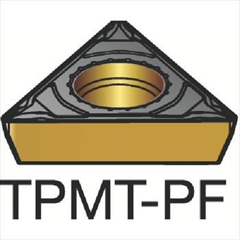 サンドビック(株)コロマントカンパニー サンドビック コロターン111 旋削用ポジ・チップ 5015 [ TPMT090202PF ]【 10個セット 】