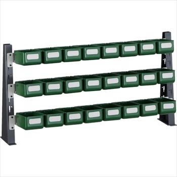 トラスコ中山(株) TRUSCO UPR型ライトビンラック卓上用 K-10HX24個[ UPRML1803K ]