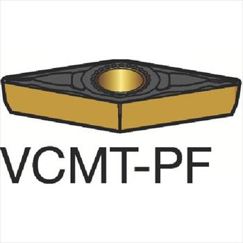 サンドビック(株)コロマントカンパニー サンドビック コロターン107 旋削用ポジ・チップ 1515[ VCMT110302PF ]【 10個セット 】