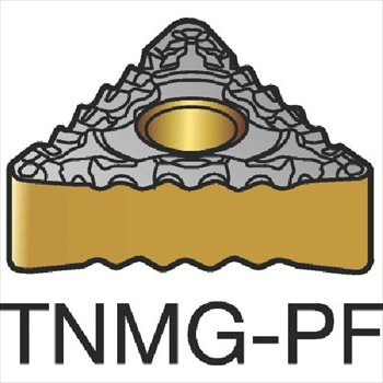 サンドビック(株)コロマントカンパニー サンドビック T-Max P 旋削用ネガ・チップ 1515 [ TNMG160404PF ]【 10個セット 】