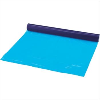 トラスコ中山(株) TRUSCO 表面保護テープ ブルー 幅1020mmX長さ100m[ TSP510B ]