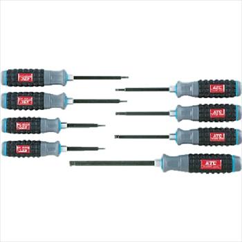 京都機械工具(株) KTC 樹脂柄ボールポイントヘキサゴンドライバセット[8本組] [ TD1HBP8 ]