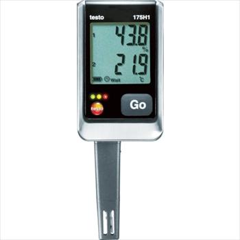 (株)テストー テストー 温湿度ロガNTC・静電容量式内蔵2ch [ TESTO175H1 ]