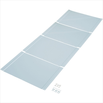 トラスコ中山(株) TRUSCO 軽量150型ボルトレス棚用背板 1200XH2400 [ TLAS84 ]