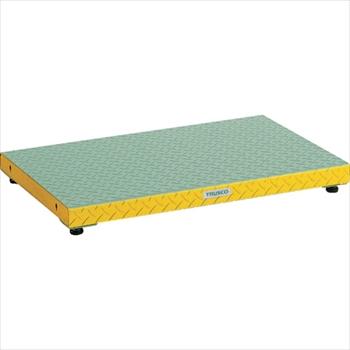 トラスコ中山(株) TRUSCO 低床用縞鋼板ステップ 900X600XH90~120[ UFS0960S ]