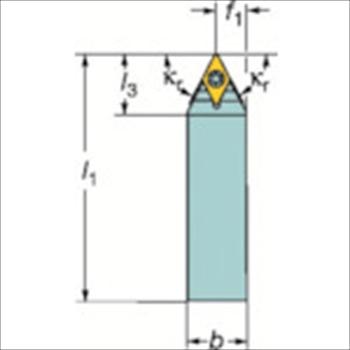 サンドビック(株)コロマントカンパニー サンドビック コロターンTR シャンクバイト[ TRD13NCN2525M ]