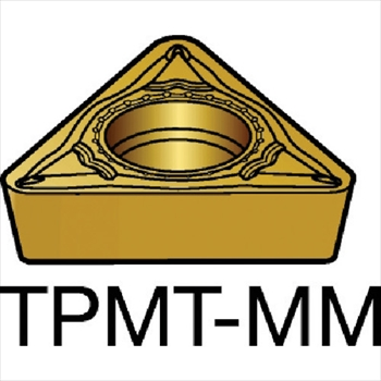 サンドビック(株)コロマントカンパニー サンドビック コロターン111 旋削用ポジ・チップ 2025[ TPMT16T304MM ]【 10個セット 】