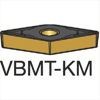 サンドビック(株)コロマントカンパニー サンドビック コロターン107 旋削用ポジ・チップ H13A[ VBMT160408KM ]【 10個セット 】