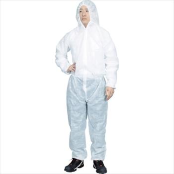 トラスコ中山(株) TRUSCO まとめ買い 保護服(1層タイプ) XLサイズ  (50着入)[ TPSBXL ]