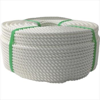 (株)ユタカメイク ユタカメイク ロープ クレモナロープ巻物 10φ×200m[ V10200 ]