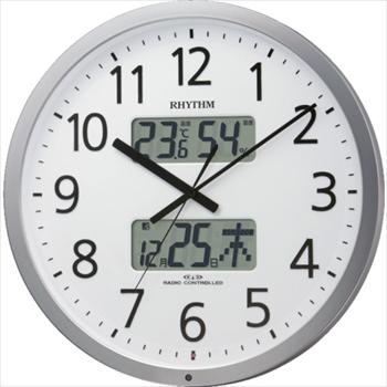 リズム時計工業(株) RHYTHM プログラムオフィス403 [ 4FN403SR19 ]