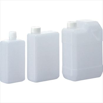 (株)サンプラテック サンプラ 角瓶B型 2L  (50個入) [ 2132 ]