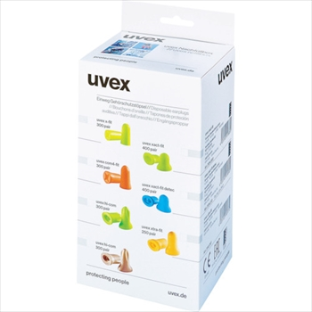 UVEX社 UVEX 耳栓 エグザクトフィットディテクタブル 交換プラグ(1箱400組入) [ 2124013 ]